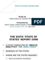 'State of the States' Indicus Analytics