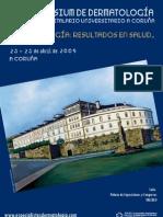 Cartel Derma 09 A Coruña