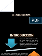 cefalosporina listo