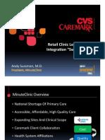 CVS Minute Clinic Presentation