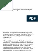 Introdução a Engenharia de Produção (1)