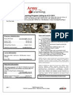 US ARMY Skillsoft Army eLearning COURSE CATALOG