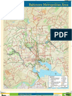 2012 Baltimore Bike Map