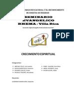 Crecimiento Espiritual (Proyecto)RHEMA