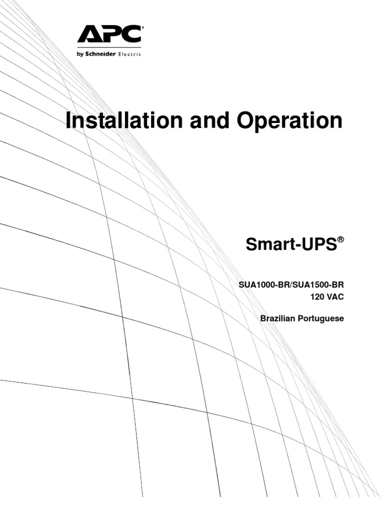 Installation and Operation: Smart-UPS