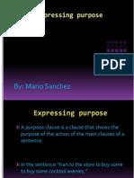 Expressing Purpose2