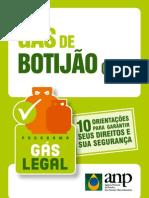 Botijão de gás - 10 orientações da ANP