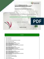 Geografia y Medio Ambiente