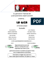 Volantino Laboratorio Teatrale 2012