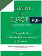Initiative for Europe - IRI Handbook 2008