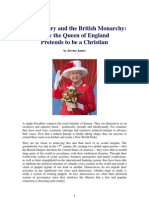 Freemasonry, the British Monarchy, and Queen Elizabeth II