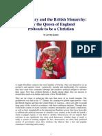 Freemasonry, the British Monarchy, and Queen Elizabeth II
