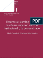 Entornos e Learning Para La Ense Anza Superior Entre Lo Institucional y Lo Personalizado P Xel Bit Revista de Medios y Educaci n 35 175 191 2009 1 to 18