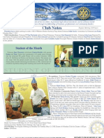 Rotary Newsletter May 7