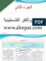مخلص عرض للنكبة الفلسطينية الكفر والمدن الفلسطينية