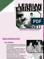 Lesbian Feminism