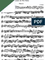 Bach Double Concerto Violin 2