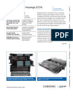 Corning CCH Connector Housing Spec Sheet