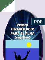 VERSOS TERAPÉUTICOS PARA EL ALMA (resumida)