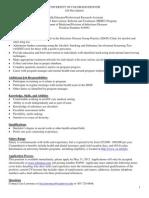 SBIRT Health Educator Job Description UCD