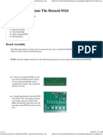 Assembly Instructions the Renard SS24 - Do It Yourself Christmas