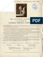 Steinmetz - The Seventieth Anniversary of the Birth of Charles Proteus Steinmetz