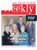 An Apple for the Teacher--Beverly Hills Weekly, Issue #658