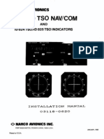 Narco MK12D Installation Manual P/N 03118-620