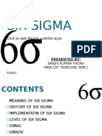 Six Sigma Ppt
