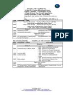 Itinerary Tioman 2012