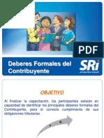 1.- Deberes Formales y Del Contribuyente-1