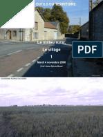 0809 Cours-07 Rural Villages 01