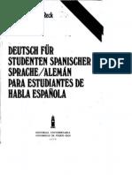 Deutsch Fuer Studenten Spanischer Sprache Vol. 1 HGR