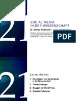 Wissenschaft und Social Media