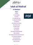 Adab Al-Mufrad - Imam Bukhari