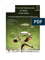 I Coloquio Internacional de La Danza Plural