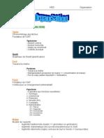 Organsiation résumé tout les chapitres