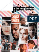 Théâtre de Longjumeau - Programme de saison 2012/2013
