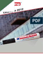 edding main catalogue 2012