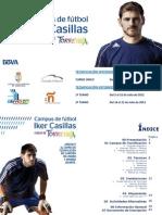 Dossier Campus IKER CASILLAS Ciudad de Torrevieja 20112