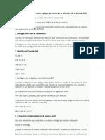 Ejercicios Redes y Configuracion