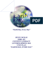 Earth Day Unit Plan