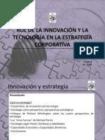 La Innovacion y la tecnologia en la estrategia corporativa