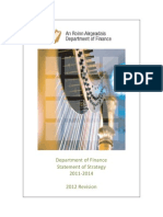 Department of Finance Strategy Statement Published