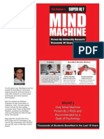 Mind Machine Booklet for All Exams, Stress Management and Vocab for GRE, GMAT, CAT