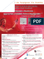 Programme Colloque Clauses Abusives