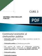 CURS 3_Sistemul Cheltuielilor Bugetare