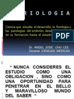 1era. CLASE  EMBRIOLOGIA  2.012 - 2