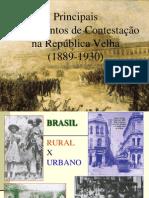 Contestacoes a Republica Velha