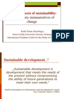March 2012 K.tamm_Spiritual Aspects of Sustainability